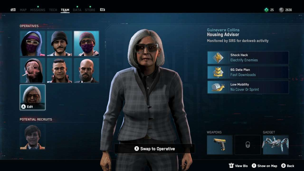Watch Dogs Legion Old Lady