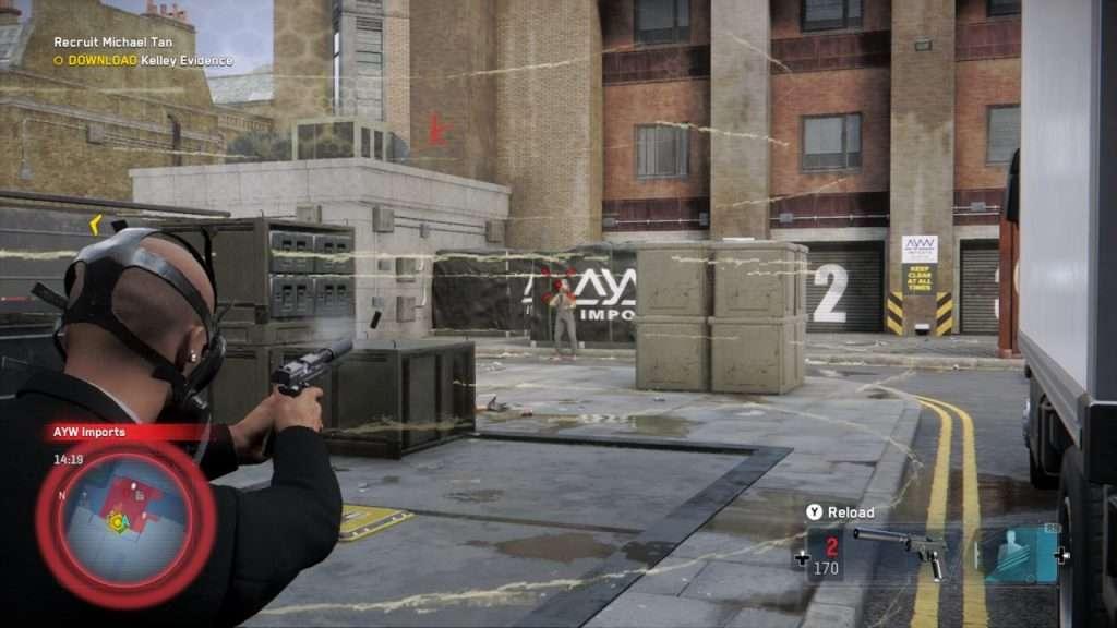Watch Dogs Legion Shooting