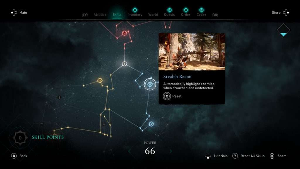 Assassin's Creed Valhalla Skill Tree