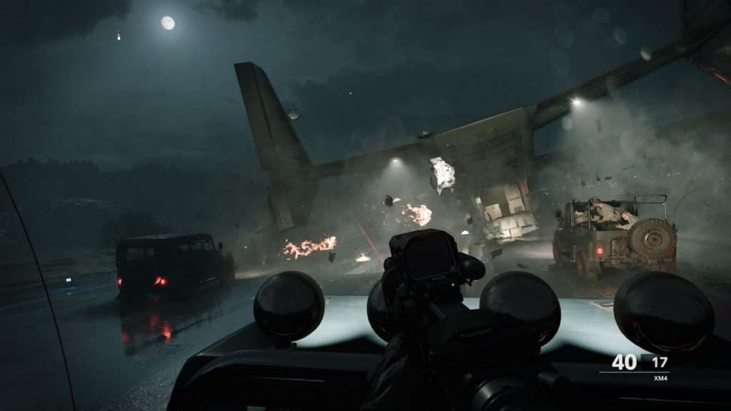 Black Ops Cold War Plane Crash