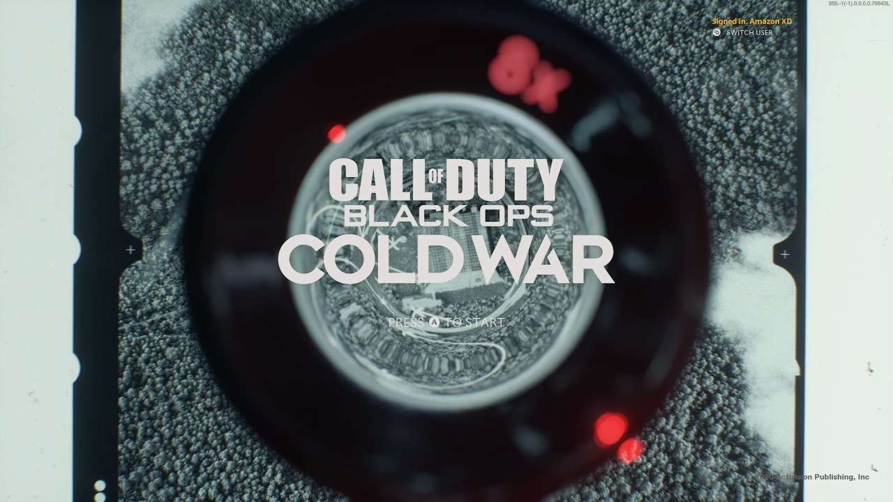 Call of Duty Black Ops Cold War Title
