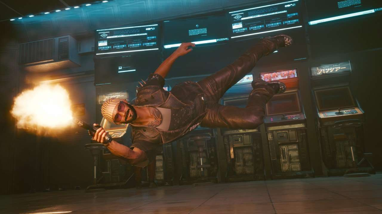 Cyberpunk 2077 Action Shot