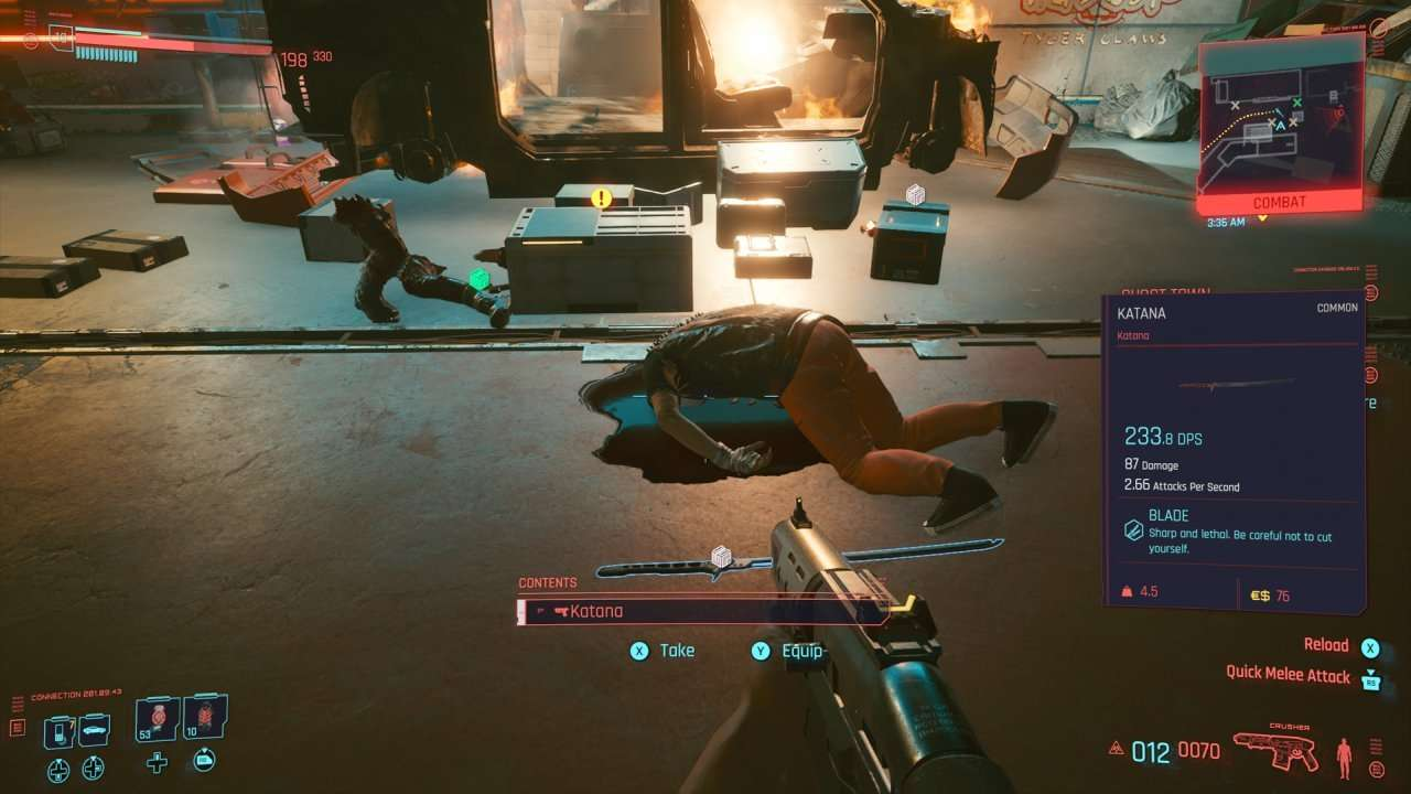 Cyberpunk 2077 Tips Loot Bodies