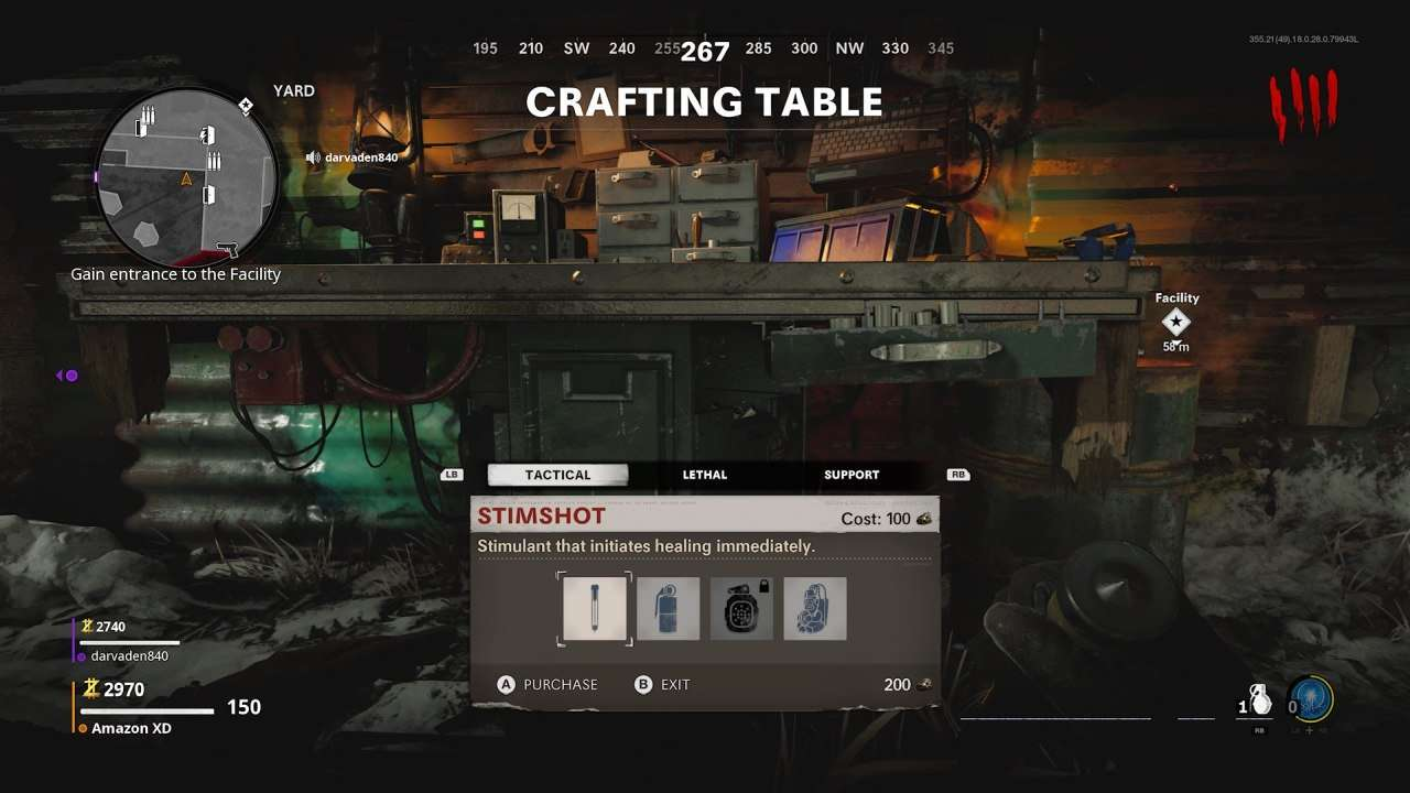 Zombies Crafting Table