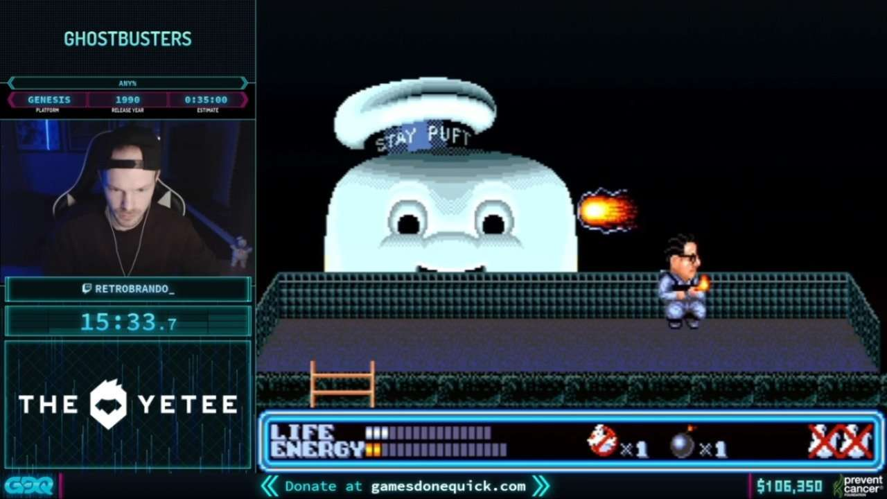 Ghostbusters at AGDQ 2021