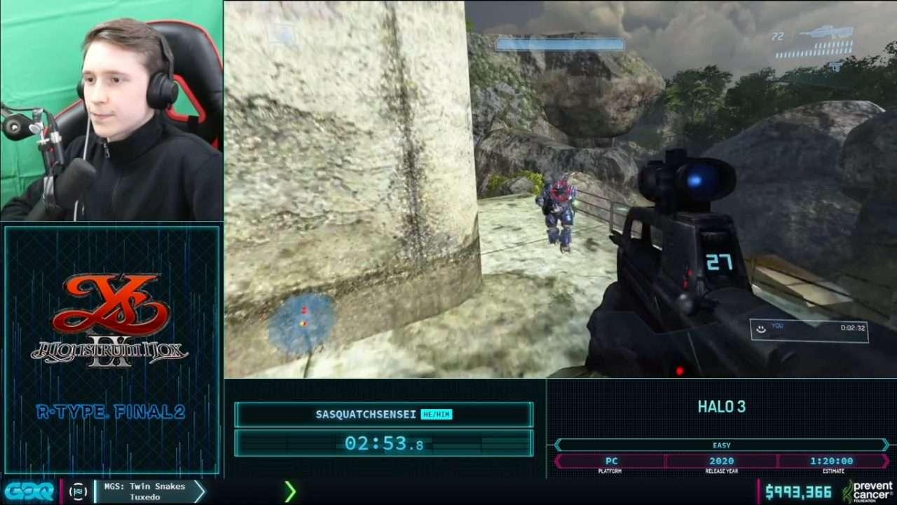Halo 3 at AGDQ 2021