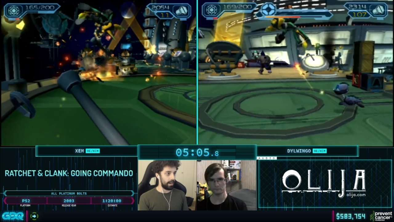 Ratchet and Clank Race AGDQ 2021