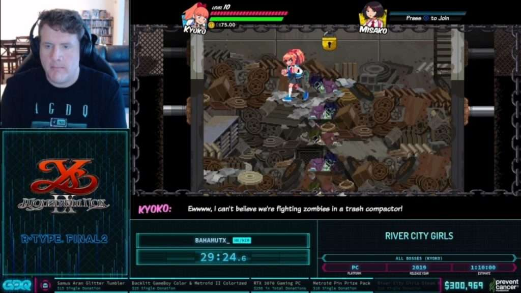 River City Girls at AGDQ 2021