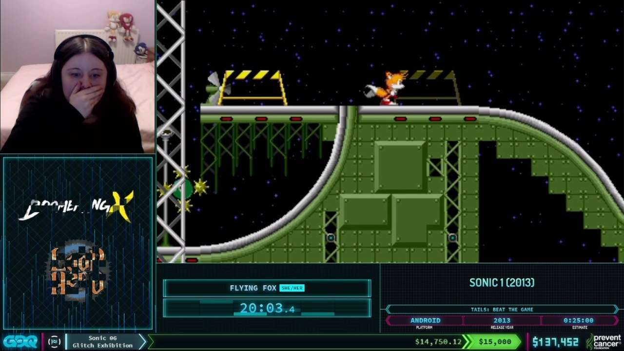 Sonic 1 World Record at AGDQ 2021