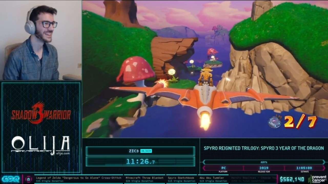 Spyro 3 AGDQ 2021
