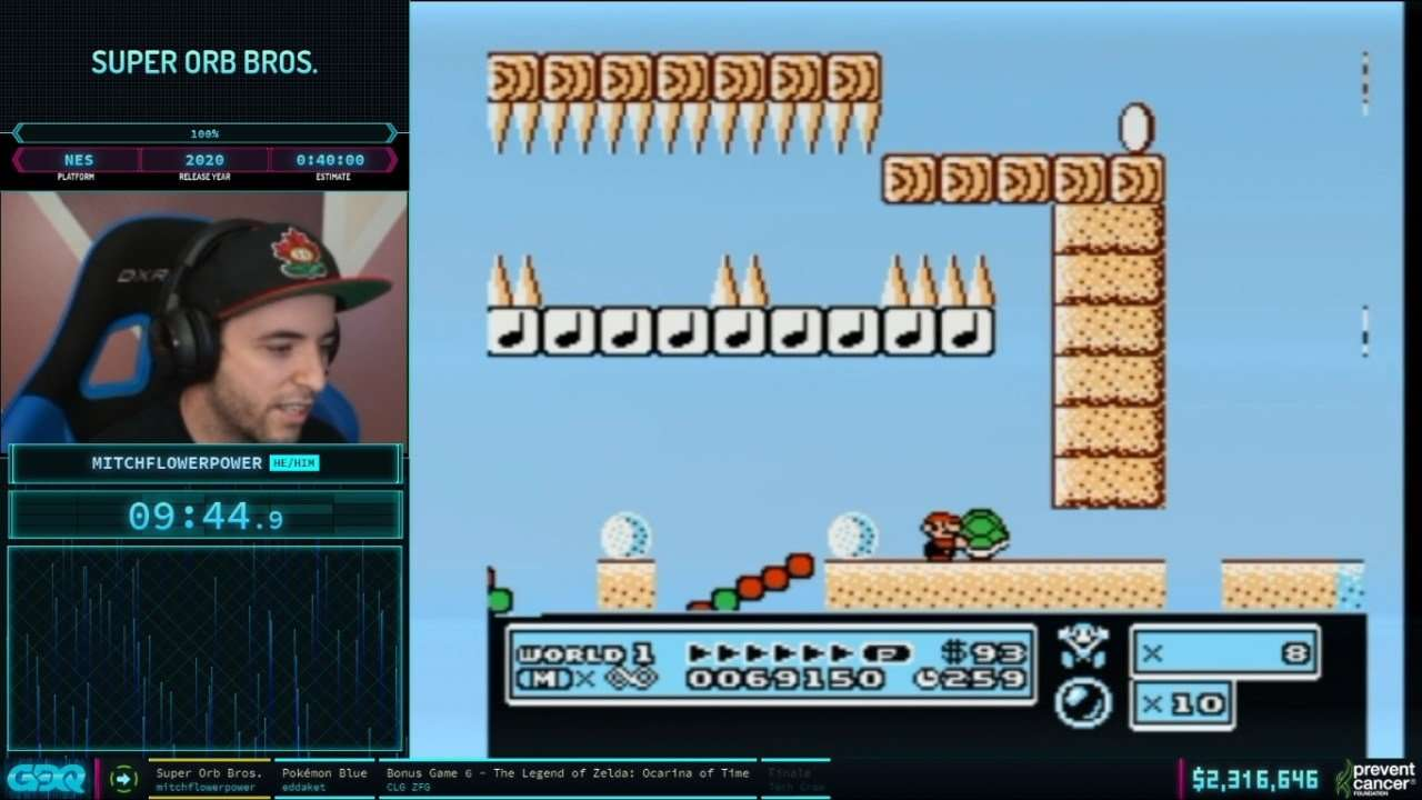 Super Orb Bros at AGDQ 2021