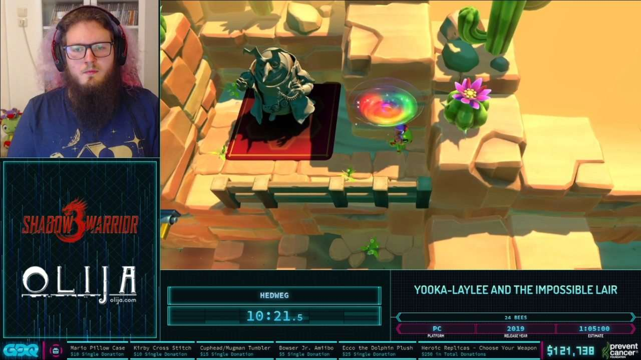 Yooka-Laylee and the Impossible Lair at AGDQ 2021