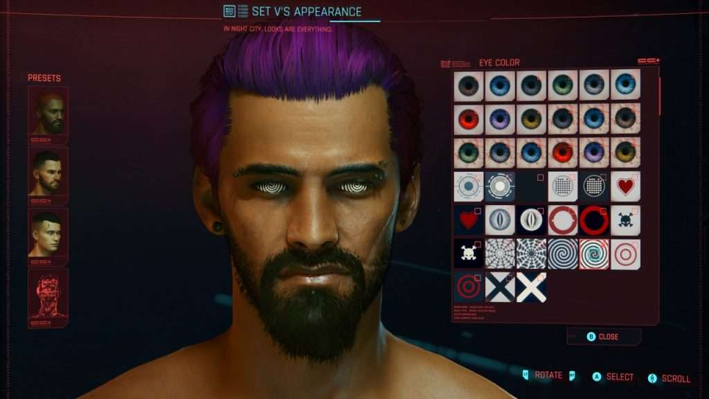 Cyberpunk Character Creator