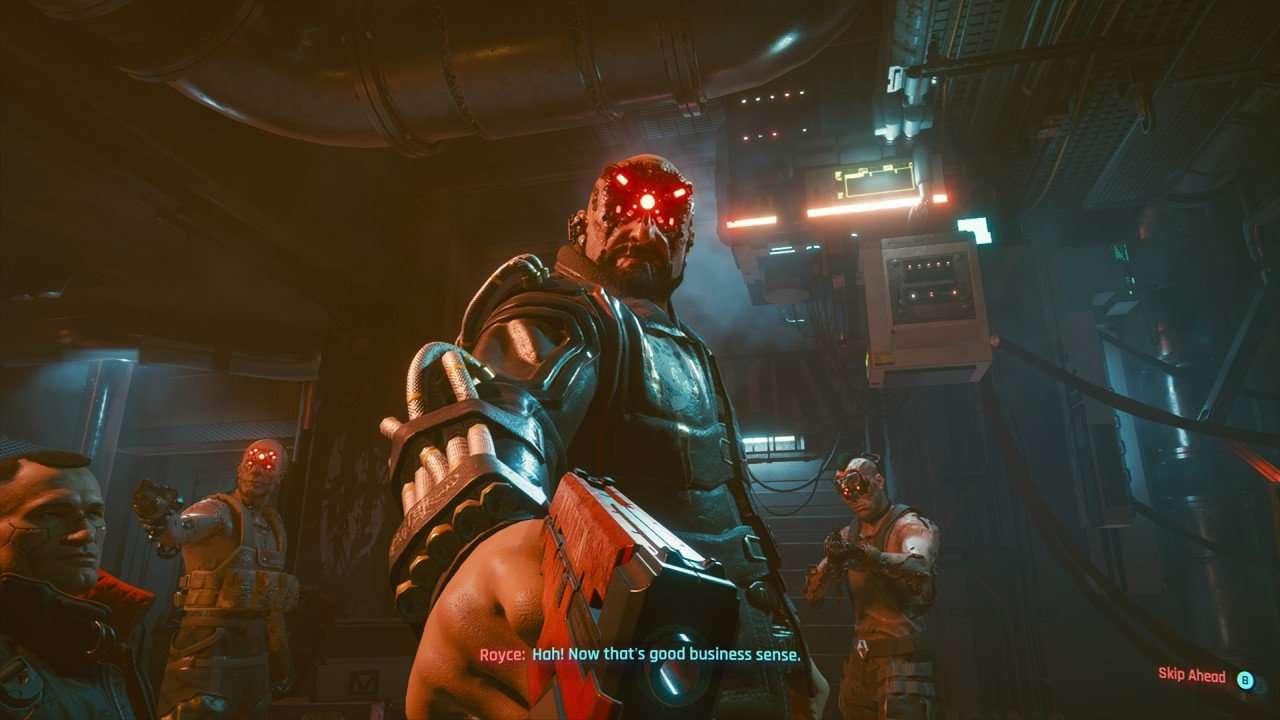 Cyberpunk 2077 Royce