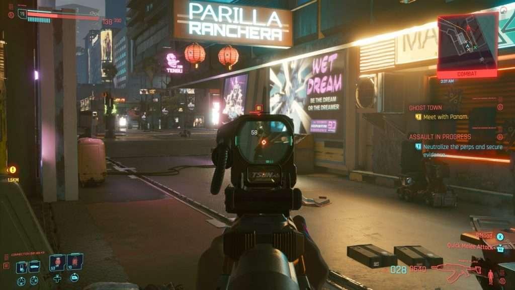 Cyberpunk Assault in Progress