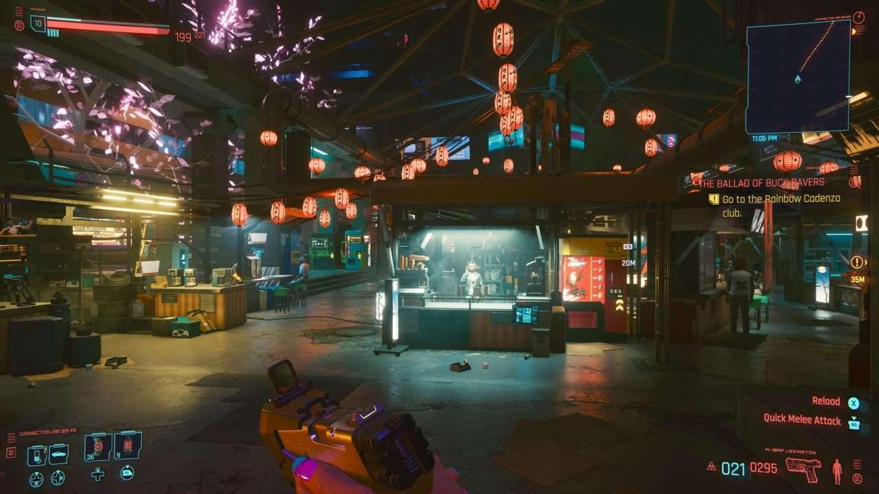 Cyberpunk Night Market