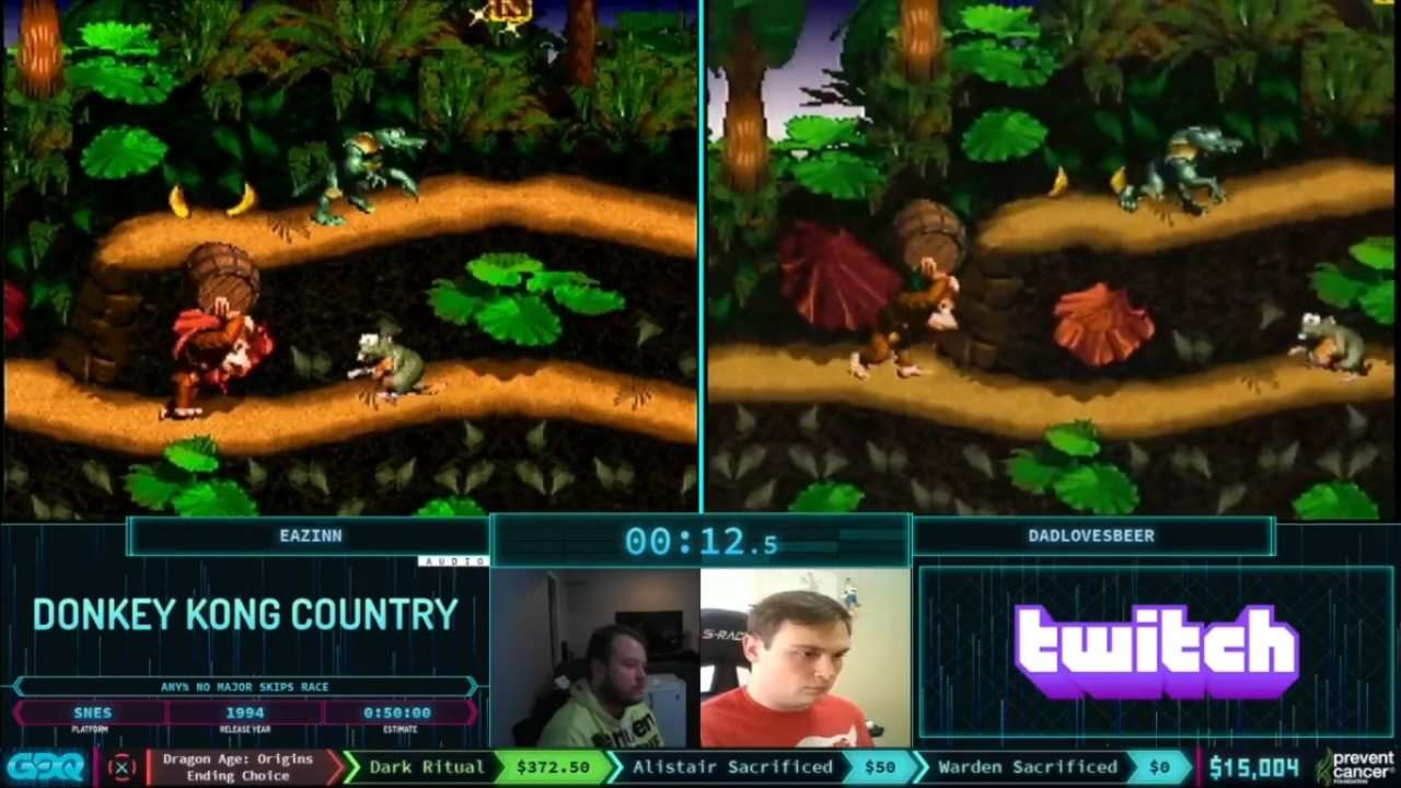 Donkey Kong Country AGDQ 2021