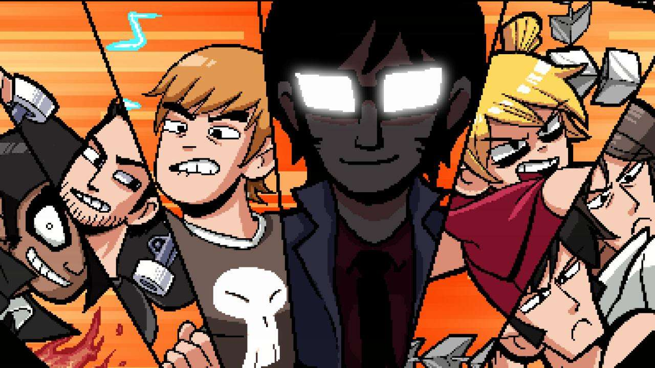 Scott Pilgrim vs the World Seven Evil Exes