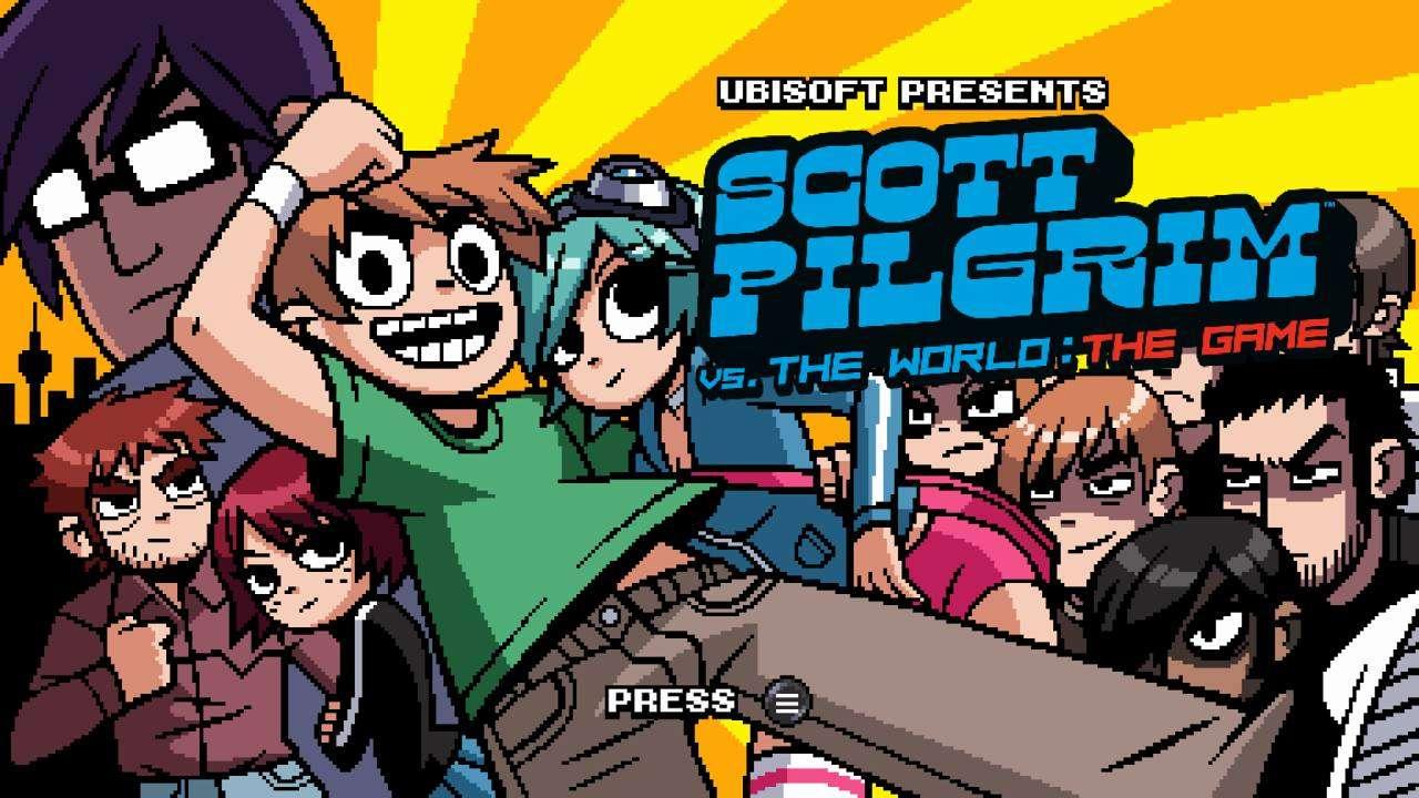 Scott Pilgrim vs the World Complete Edition Title