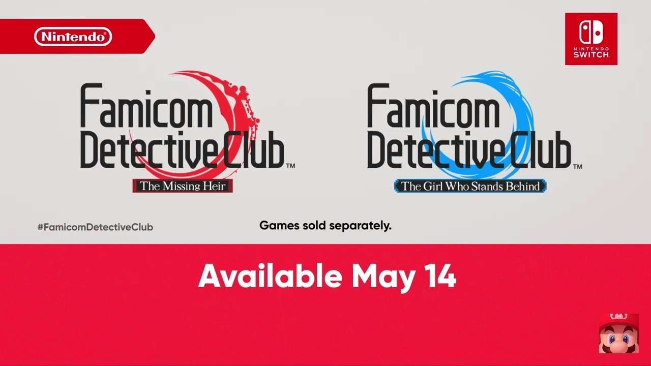 Famicom Detectice Club February Nintendo Direct