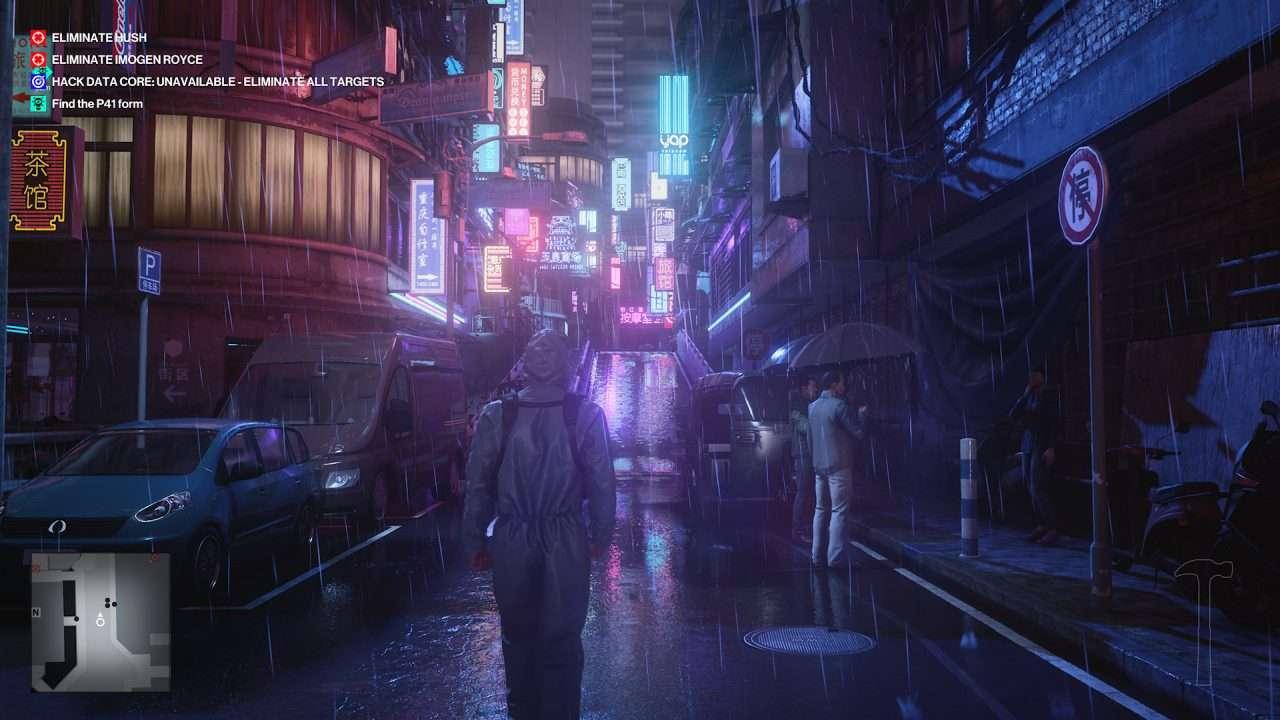 Hitman 3 China Neon
