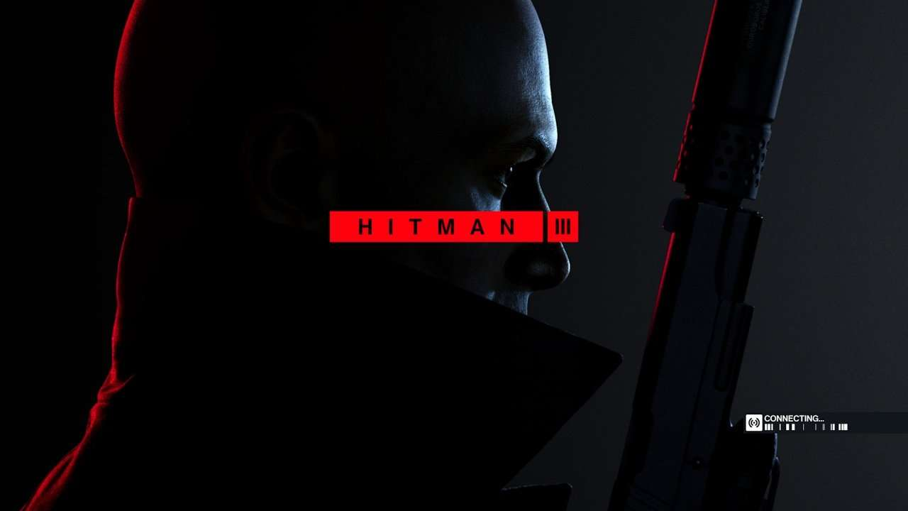 Hitman 3 Title Screen