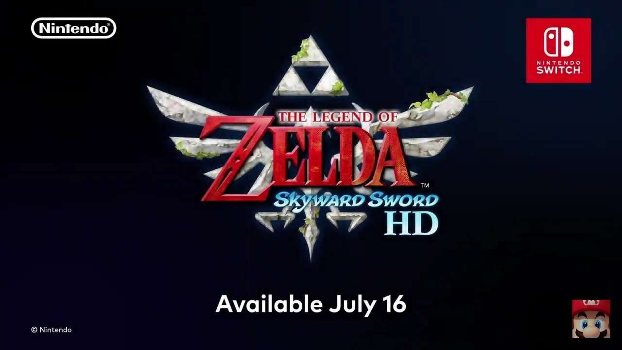 Skyward Sword HD Release Date