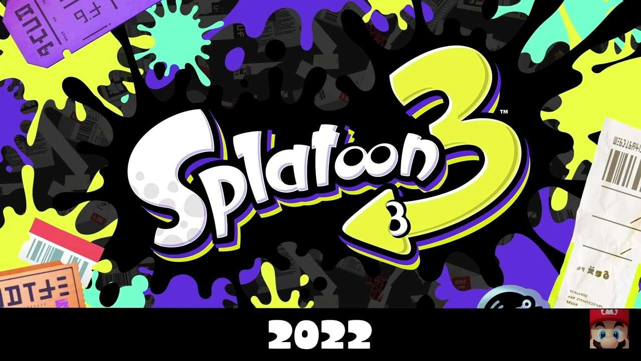 Splatoon 3 Switch Splash Art