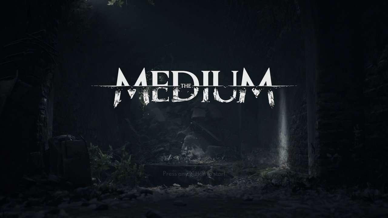 The Medium Title Screen