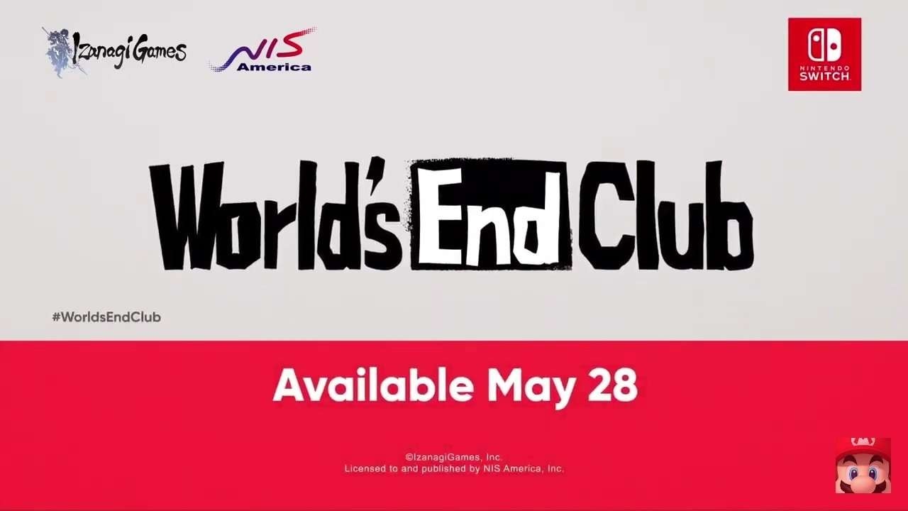 World's End Club Release Date