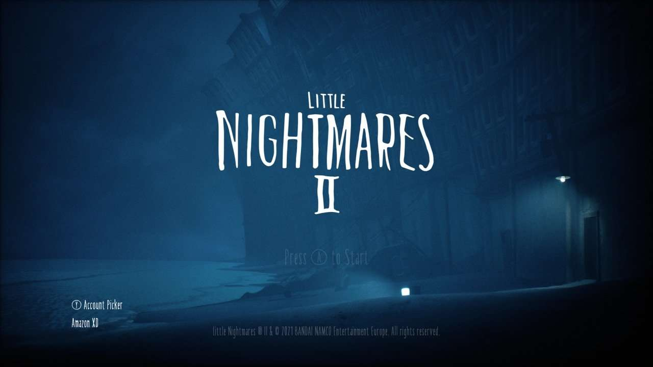 Little Nightmares 2 Title Screen