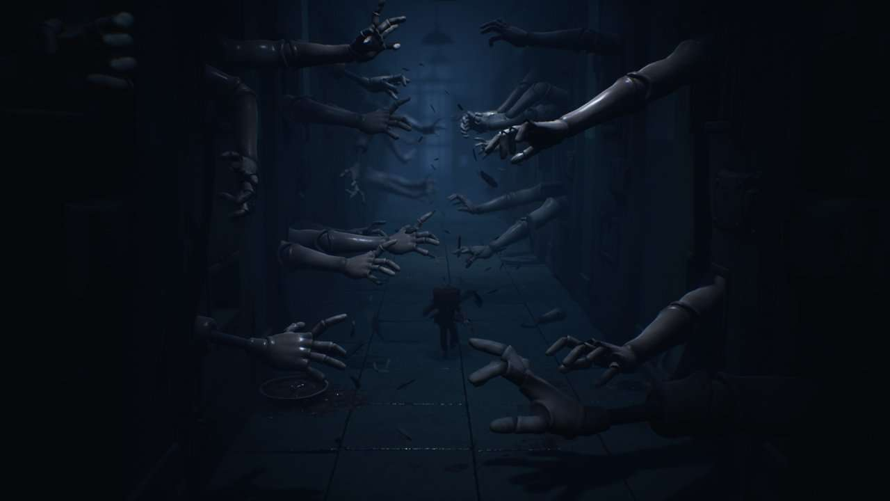 Little Nightmares 2 Hands Bursting out of Walls