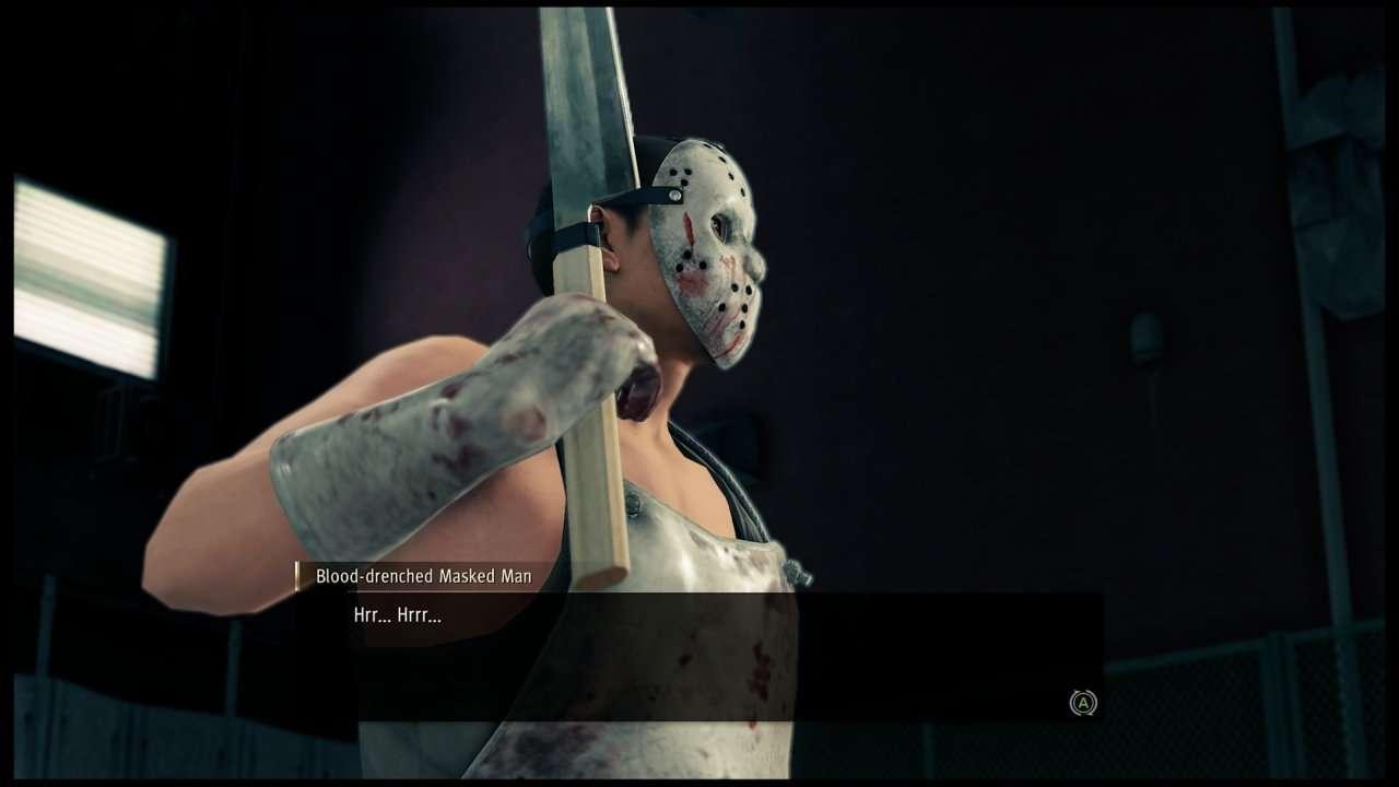 Yakuza Like a Dragon Bloody Masked Man