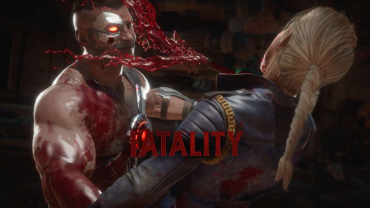 Kano performs the Last Dance fatality in Mortal Kombat 11