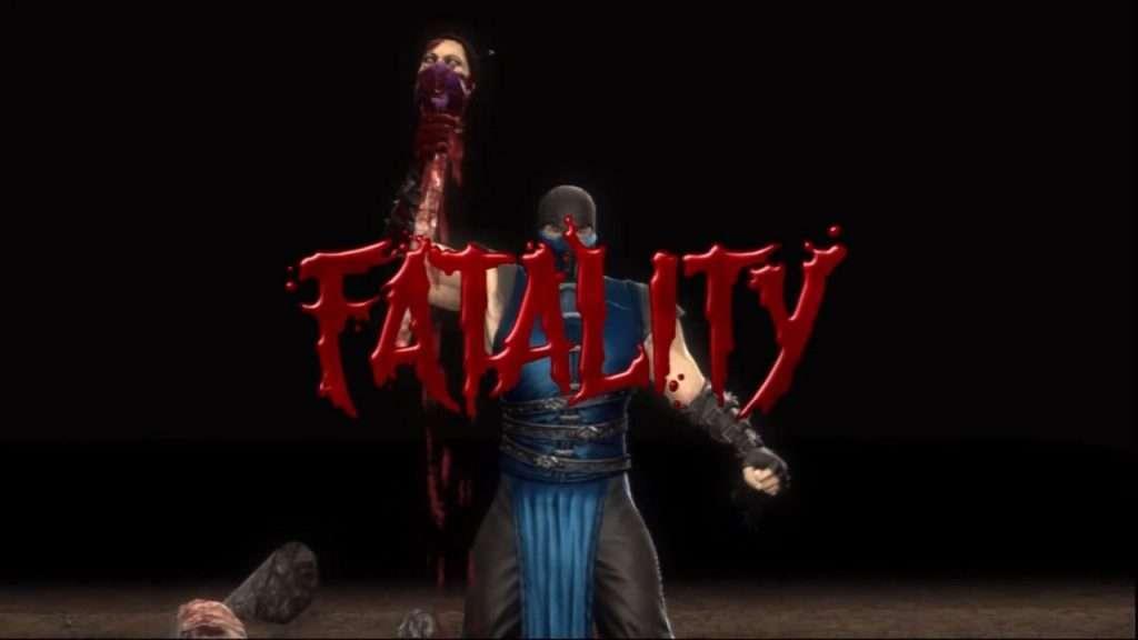 Sub-Zero Spine Rip in Mortal Kombat 11