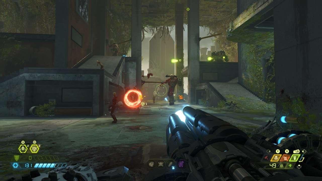 Doom Ancient Gods Part Two Gameplay