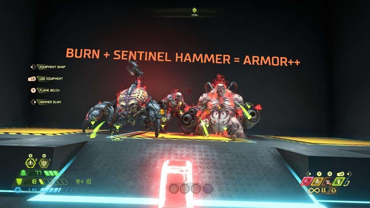 Sentinel Hammer Tutorial in Doom Eternal