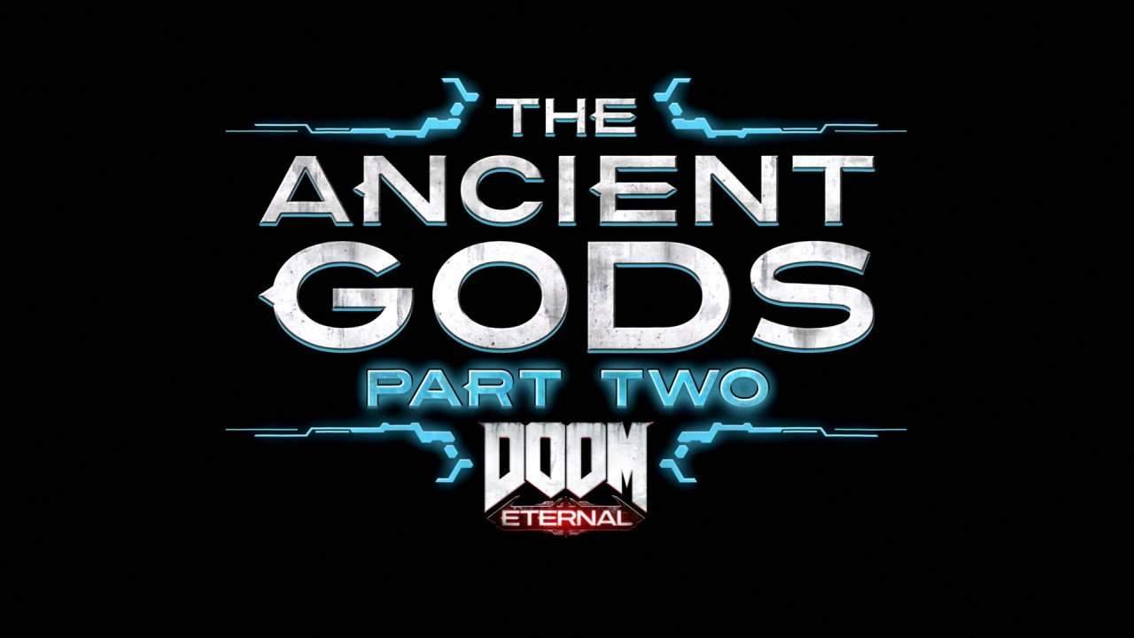 Logo for Doom Eternal The Ancient Gods Part Two