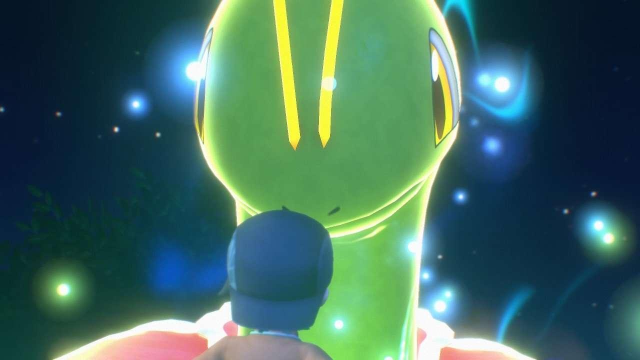 Encountering an Illumina Pokemon in New Pokemon Snap