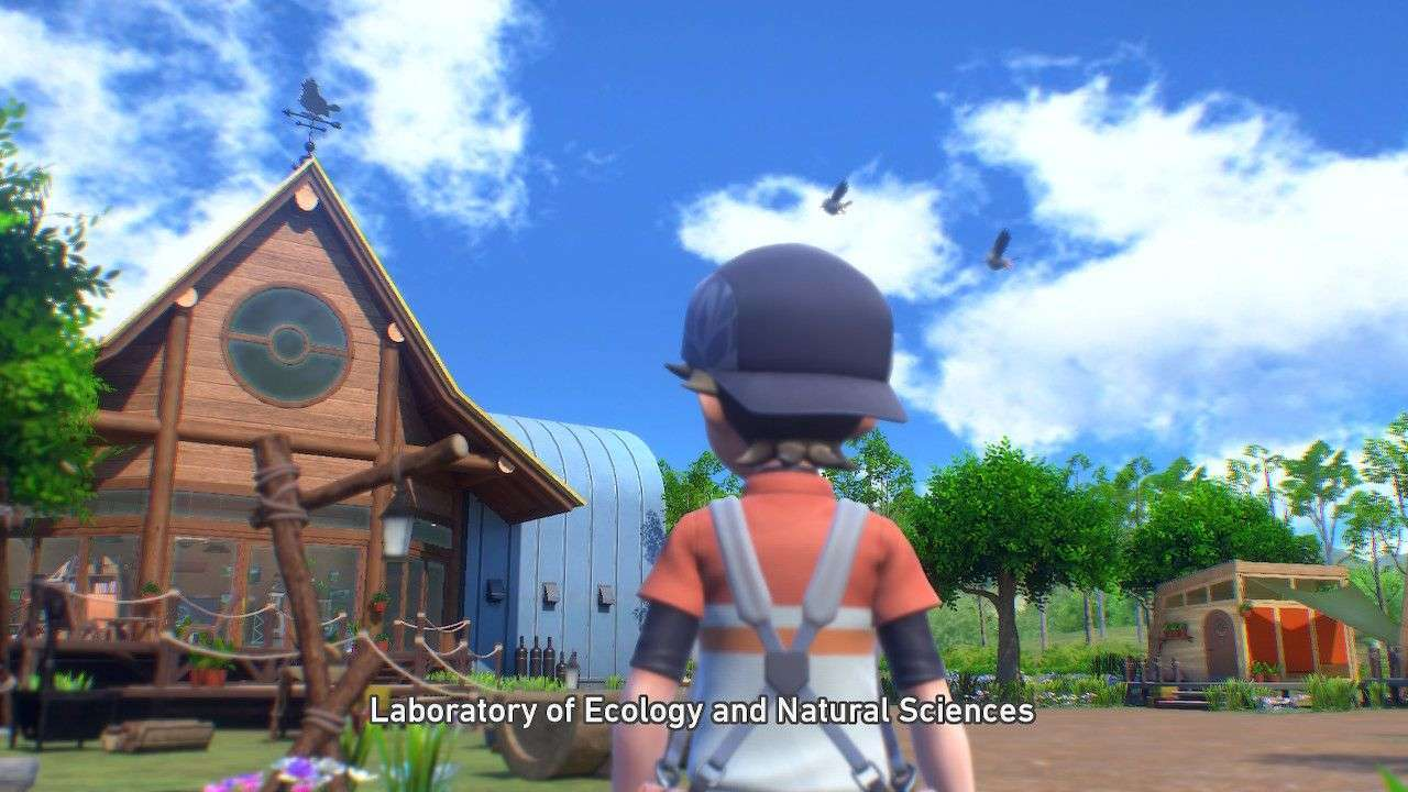 The LENS research base in New Pokemon Snap