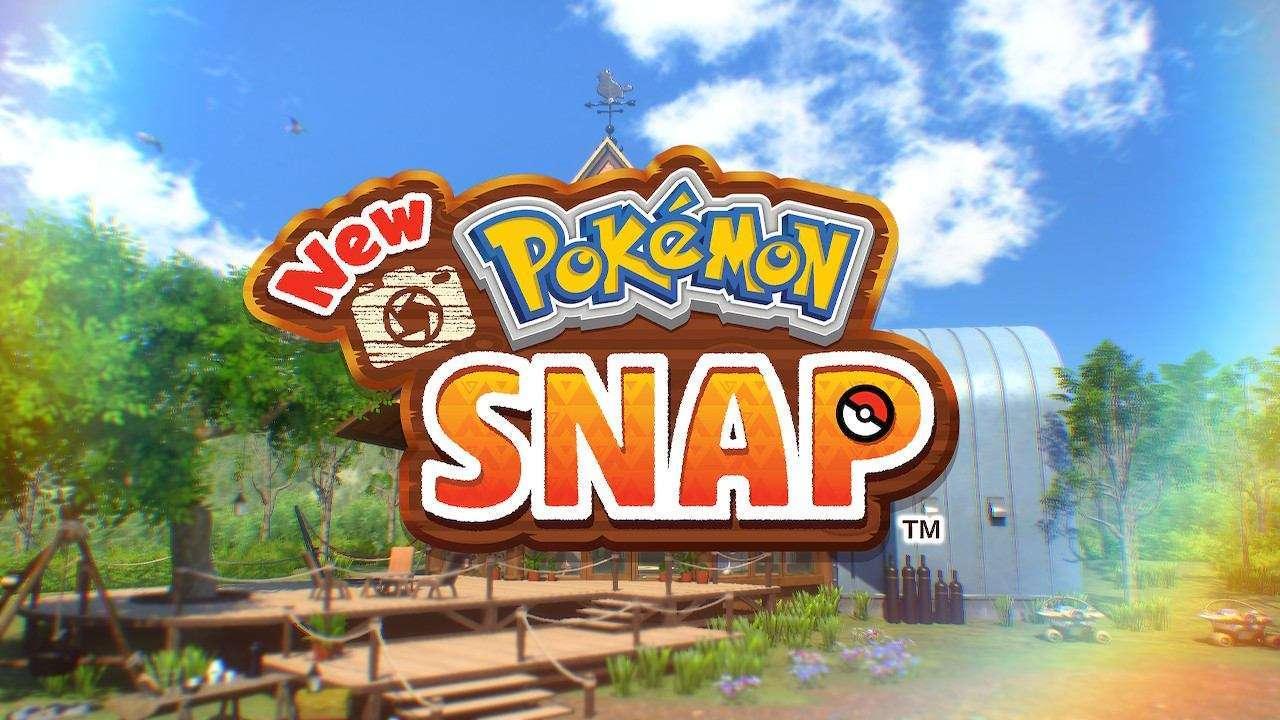 New Pokemon Snap Title Screen
