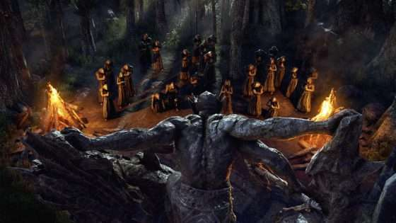 ESO Blackwood Mehrunes Dagon Statue