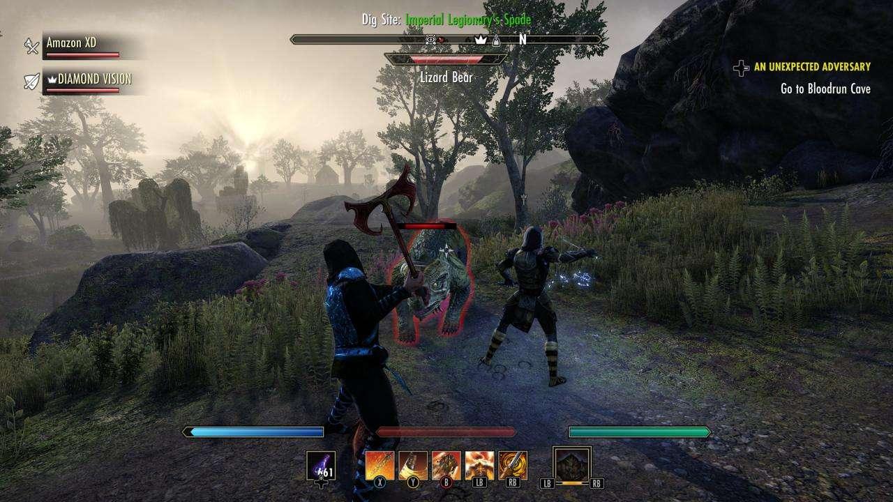 ESO Blackwood Third Person Combat