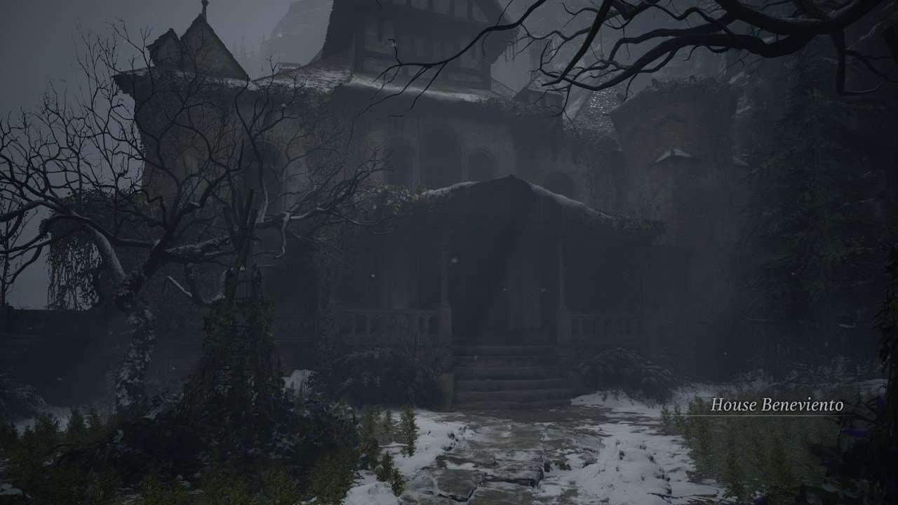 House Beneviento Resident Evil Village