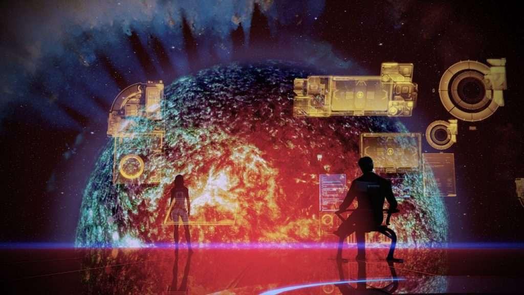 The Illusive Man's Office Mass Effect 2