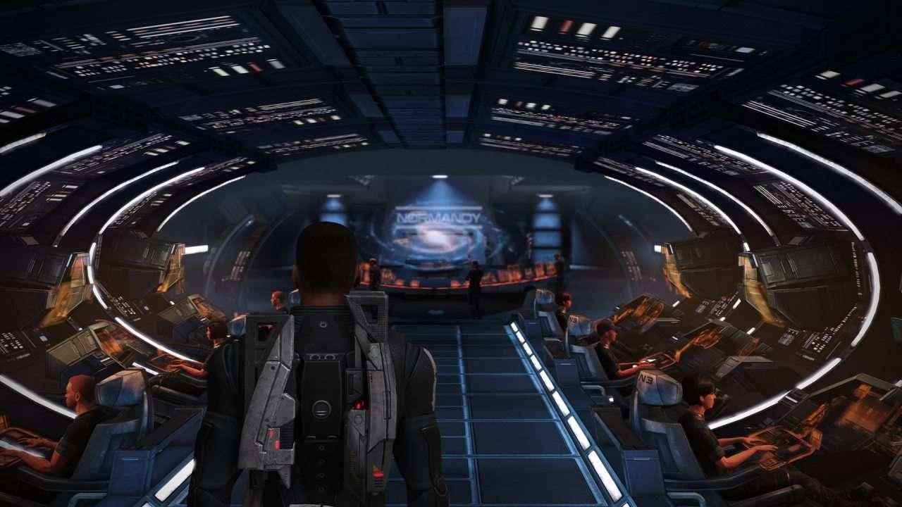Normandy Spacecruiser Bridge in Mass Effect 1