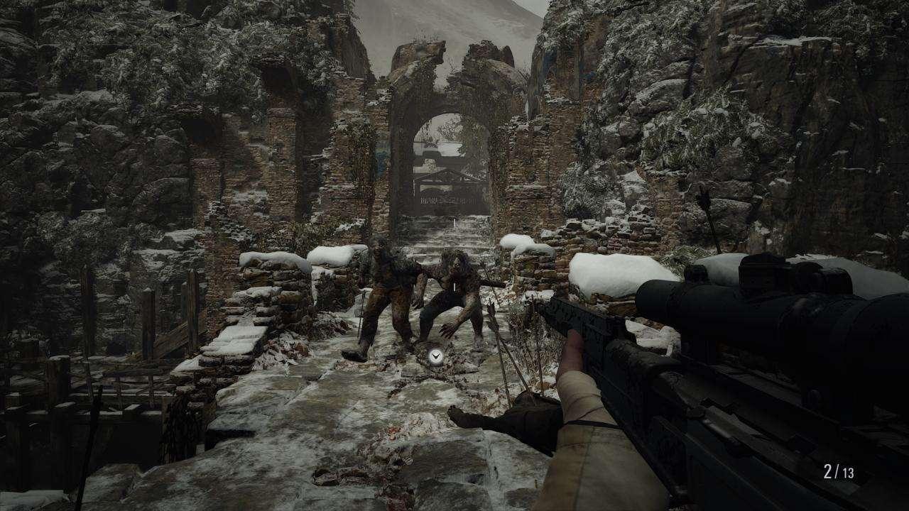 Resident Evil Village Combat