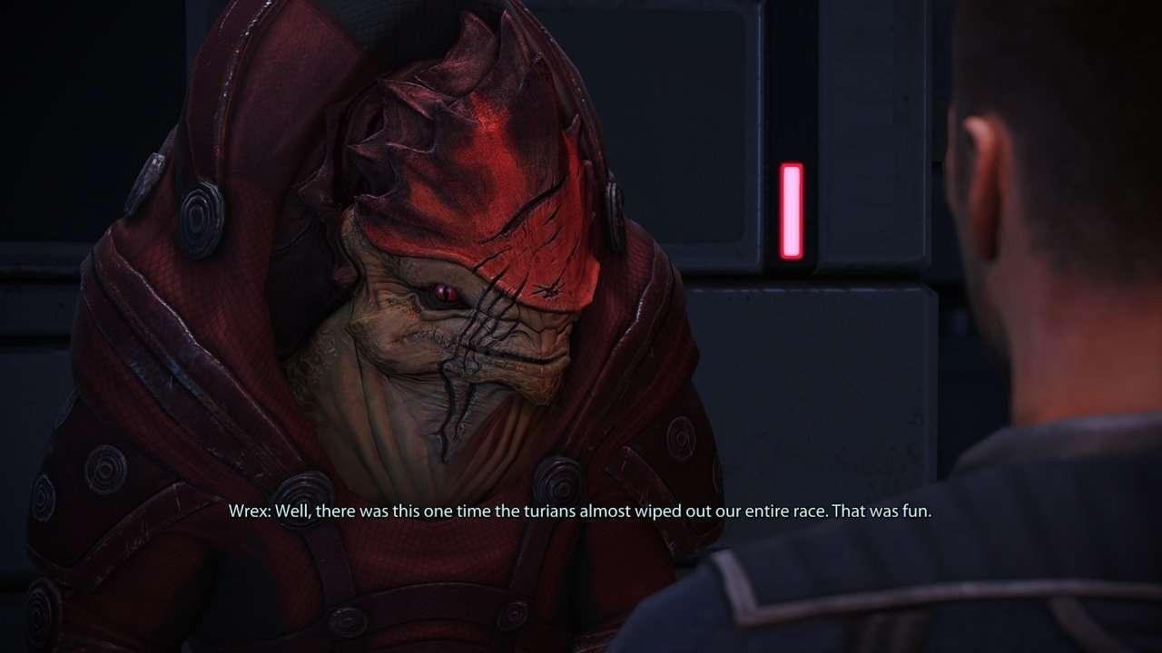 Urdnot Wrex Mass Effect 1