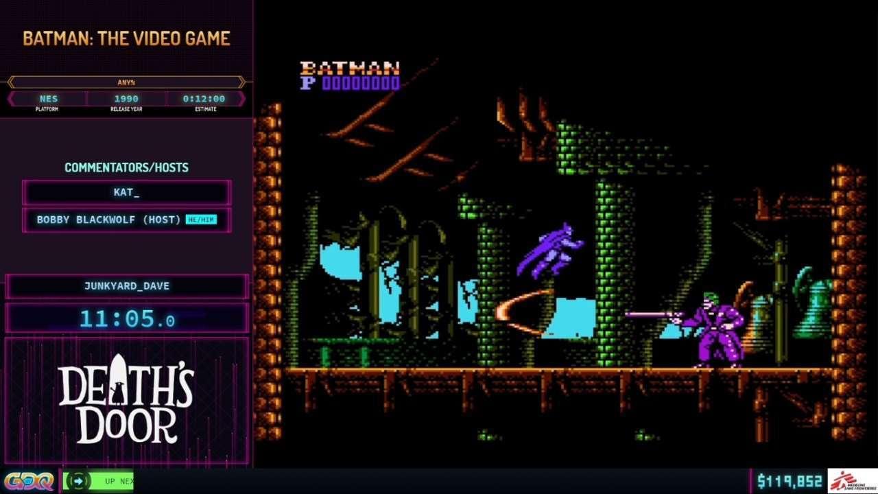 Batman the Video Game at SGDQ 2021