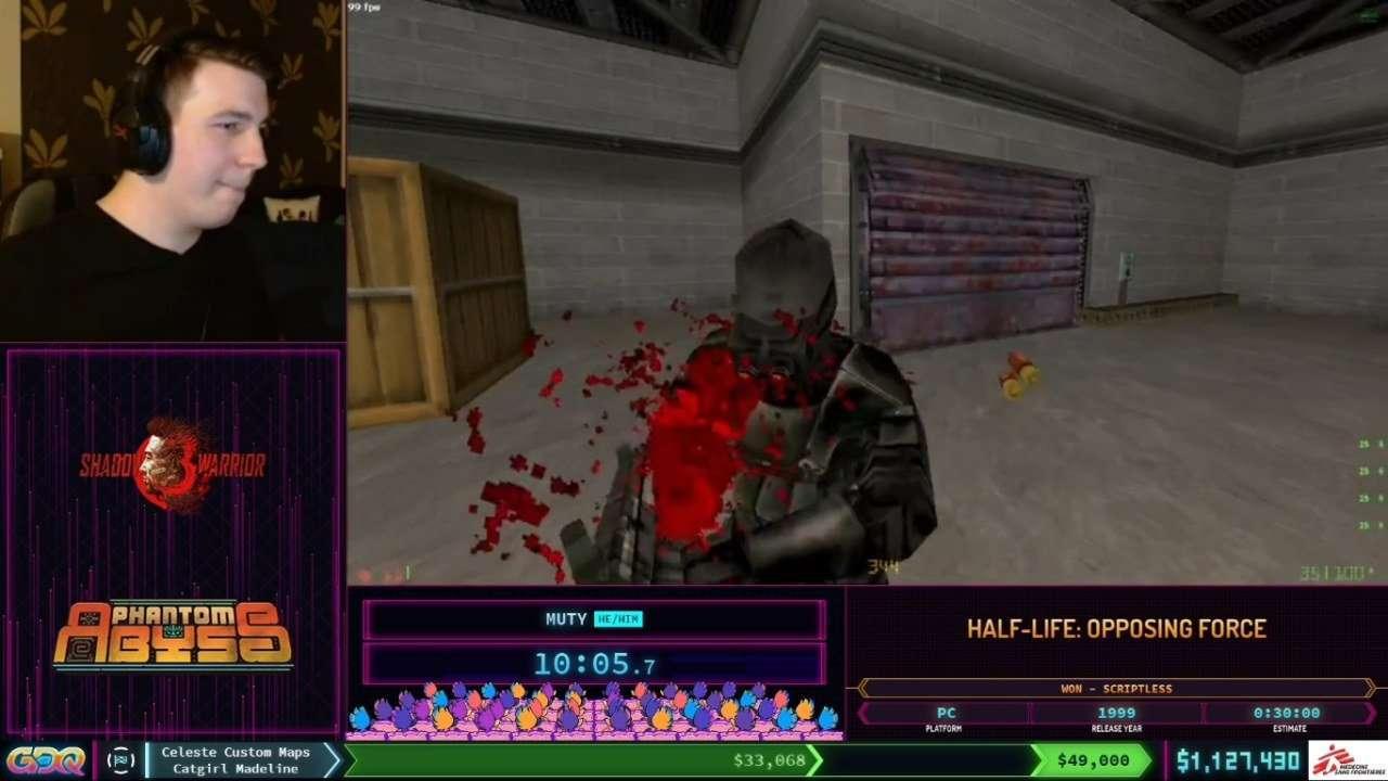 Half-Life Opposing Force Speedrun